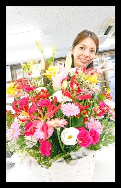 1107オープンお花